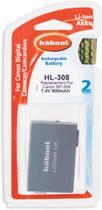 Hahnel HL-308 Canon* Videocamera Accu