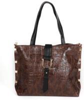 Adventure Bags Croco Tote Shopper Bruin