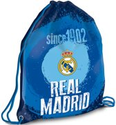 Real Madrid - Gymbag - 42 cm - Blauw