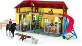 Schleich Paardenstal 42485 - Speelfigurenset - Farm World - 10,5 x 49 x 34,5 cm
