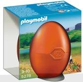 Playmobil Indianenmeisje met Bosdieren - 5278