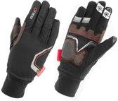 AGU Waterproof III - Fietshandschoenen - Unisex - zwart/grijs/wit