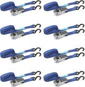 JUMBO spanbanden 8 pack medium duty met ratel en s haken
