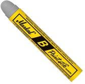 Markal B Paintstik Marker - Grijze Solid Paint Stick - Geschikt op ruwe, roestige, gladde of vuile oppervlakken