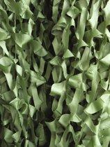 Europalms Decoratienet - camouflage net - donkergroen - 600x300cm - camouflagenet