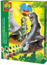 SES Gips gieten T-Rex