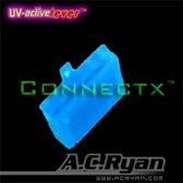 AC Ryan Connectx™ AUX 6pin Female - UVBlue 100x Blauw