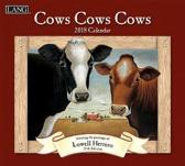 Cows Cows Cows 2018 Wall Calendar