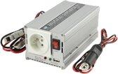 HQ 24V-230V 300W netvoeding & inverter auto Zilver
