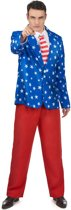 Mr. America kostuum voor heren  - Verkleedkleding - XL