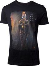 Assassin's Creed Origins Medunamun T-Shirt Heren Zwart, Maat:  XXL