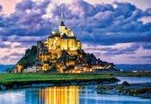 Fotobehang France Mont Saint Michel   L - 152.5cm x 104cm   130g/m2 Vlies