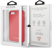 """Guess Silicone HardCase voor Apple iPhone 7 (4.7"""") - Rood"""