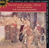 Sacred And Secular Music Of Six Centuries