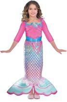 Girls Costume Barbie Rainbow Mermaid 5 - 7 Years