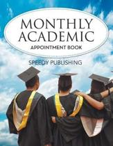 Monthly Academic Appointment Book