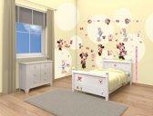 Walltastic Kinderbehang - Muursticker Box - Disney - Minnie Mouse - 79 stickers