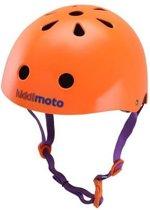 Kiddimoto - Neon Oranje - Medium - Design Skatehelm / Fietshelm
