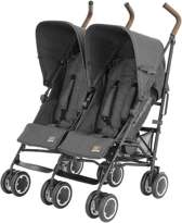 Buggy Simba Twin T4 - Duo buggy - Denim Zwart