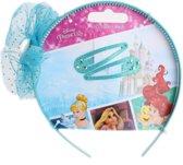 Disney Diadeem Met Speldjes Princess 3-delig Blauw