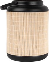 Lantern bamboo lines medium black
