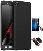 Teleplus Xiaomi Mi 5 S 360 Full Protected Cover Black + Glass Screen Protector
