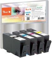 Peach H364XL - Inktcartridge Combi Pack HP 364XL - Zwart / Cyaan / Magenta / Geel