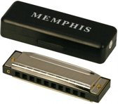 Blues mondharmonica in C- 10 gaats