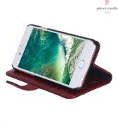 iPhone 8/7 hoesje - Pierre Cardin - Rood - Leer