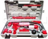 Hydraulische uitdeukset schadeherstelset repair kit - 10 ton