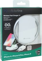 Cellularline - Draadloze lader voor Apple -  Wit