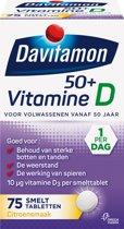 Davitamon Vitamine D 50+ Smelttabletten - 75 stuks - Voedingssupplement