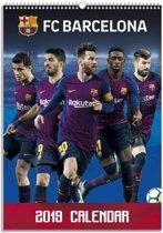 Barcelona FC A3 Kalender 2019