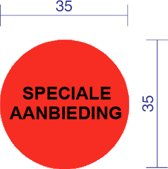 Speciale aanbieding etiket dia 35mm