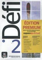 Défi 2 Livre de l'élève + CD Version Premium A2
