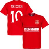 Denemarken Eriksen 10 Team T-Shirt - XL