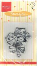 Clear Stamps Snoes met cadeau