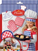 SES Piretti ovenwant en pannenlap