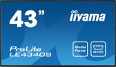 Iiyama ProLite LE4340S-B1 - Full HD Monitor
