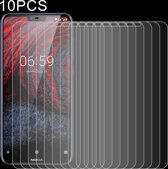 Let op type!! 10 PCS 0 26 mm 9H 2.5D explosieveilige getemperd glas Film voor Nokia 6.1 Plus