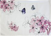 Marjolein Bastin Sketch of Nature Bloem Placemat - Wit