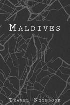 Maldives Travel Notebook