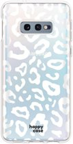 HappyCase Galaxy S10E Flexibel TPU Hoesje Luipaard Print