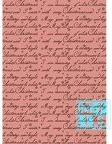 Cadeaupapier kerstmis: K691224/3 I'm Dreaming of a White Christmas - Toonbankrol breedte 70 cm