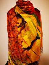 Paco's Jaén Art Dames Wintersjaals