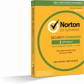 Norton Security Standard 3.0 - Nederlands / 1 Apparaat / 1 Jaar / Windows / Mac / iOS / Android