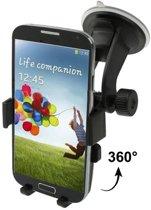 Casify - Autohouder 360 Graden Zwart -  Huawei P8 Lite