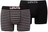 Levi Boxershort - Maat S  - Mannen - grijs/roze