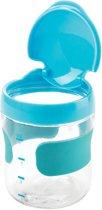 OXO tot Groot Flip-Top Snackdoosje Aqua