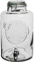 Mason Jar drink dispenser met tap - Saveur Pure